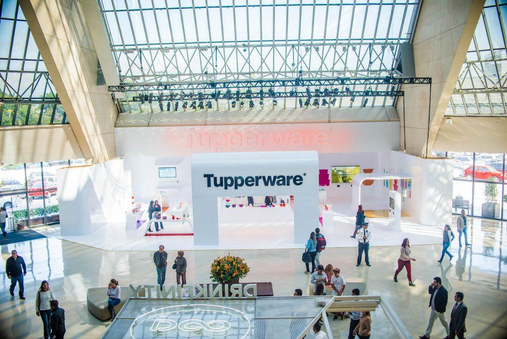 """A exposição """"O que tem dentro da Tupperware"""" acontece até o dia 31 de agosto, no shopping Eldorado"""