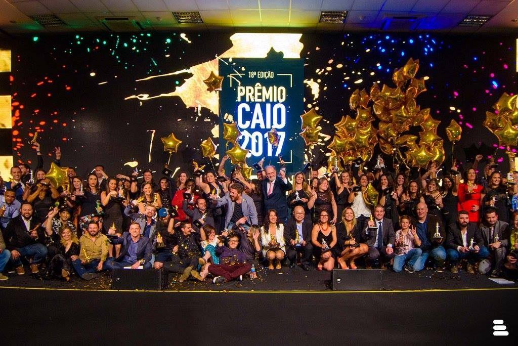 Cerimônia da 18ª edição do Prêmio Caio. Foto: Renato Bueno
